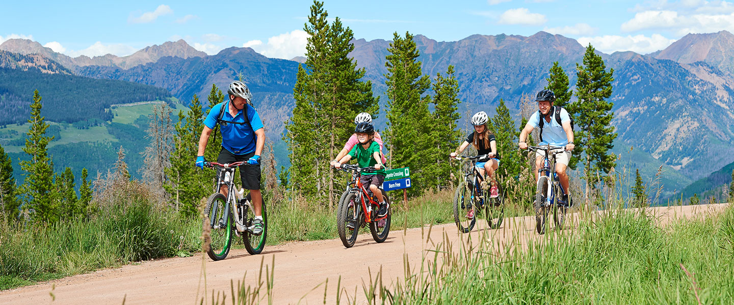 Summer Biking in Vail